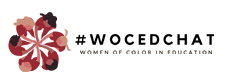 #WOCEDChat Online Logo